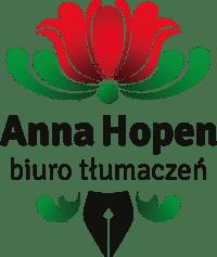 Biuro tłumaczeń języka norweskiego - Anna Hopen